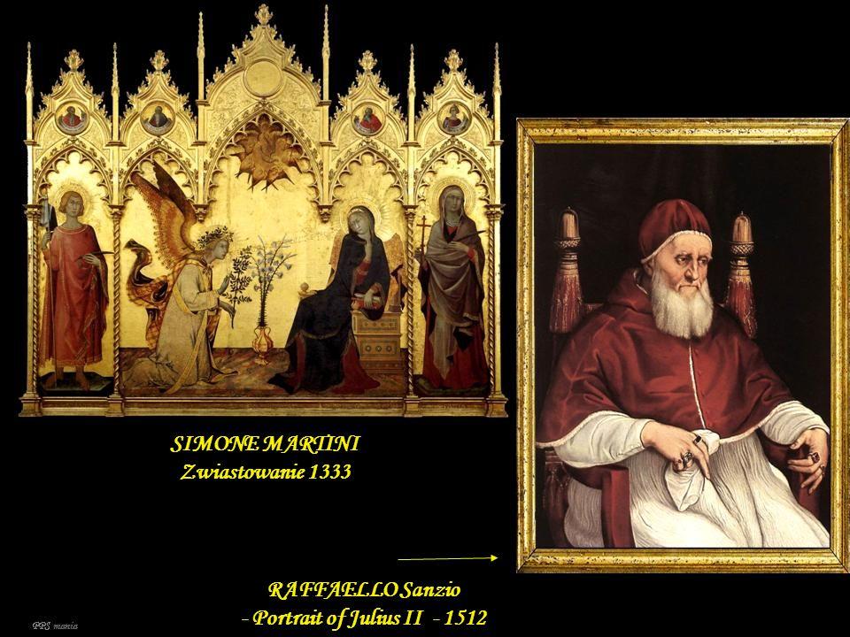 SIMONE MARTINI Zwiastowanie 1333