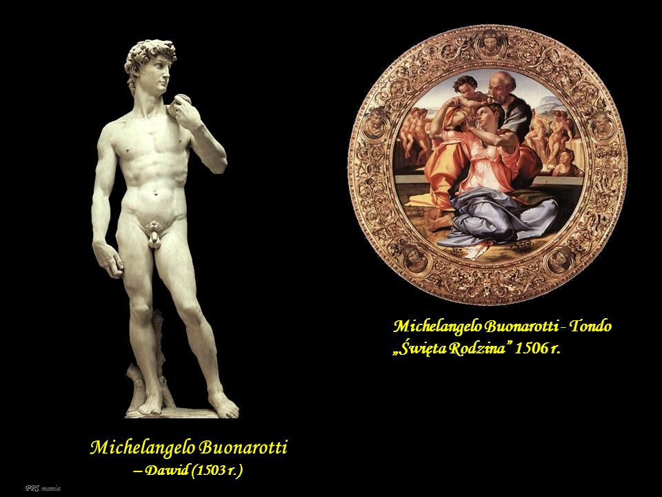Michelangelo Buonarotti – Dawid (1503 r.)