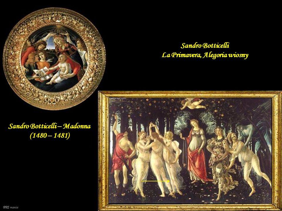 Sandro Botticelli La Primavera, Alegoria wiosny