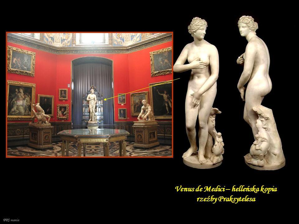 Venus de Medici – helleńska kopia rzeźby Praksytelesa