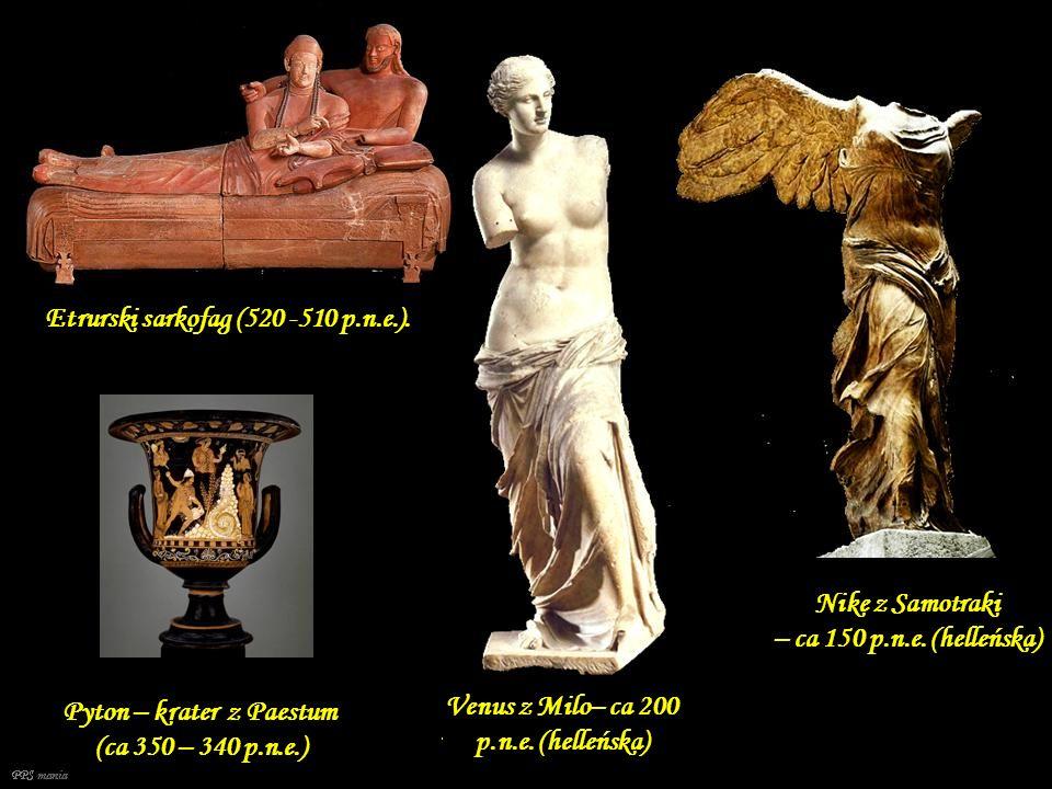 Etrurski sarkofag (520 -510 p.n.e.).