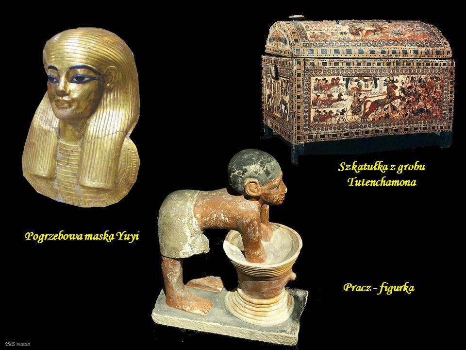 Szkatułka z grobu Tutenchamona