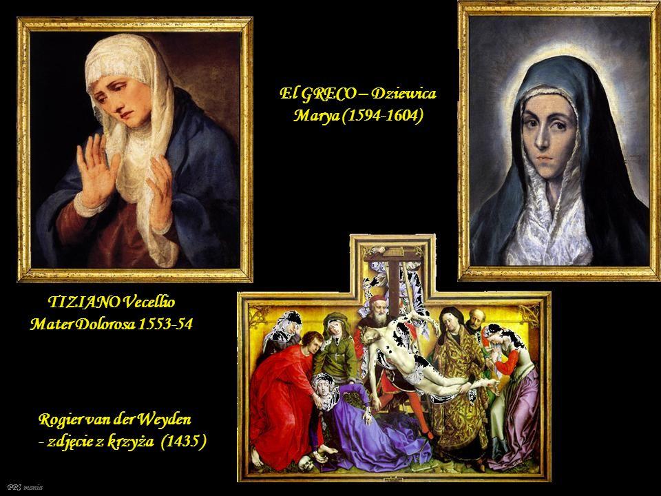 El GRECO – Dziewica Marya (1594-1604)