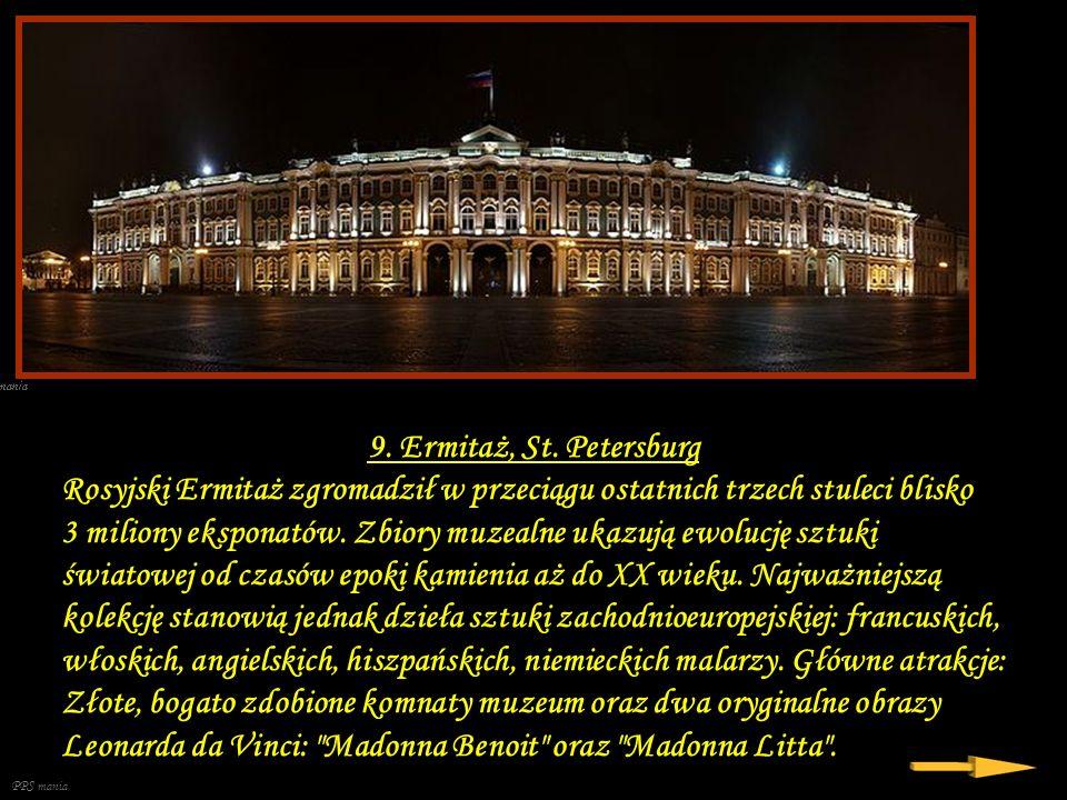 9. Ermitaż, St. Petersburg