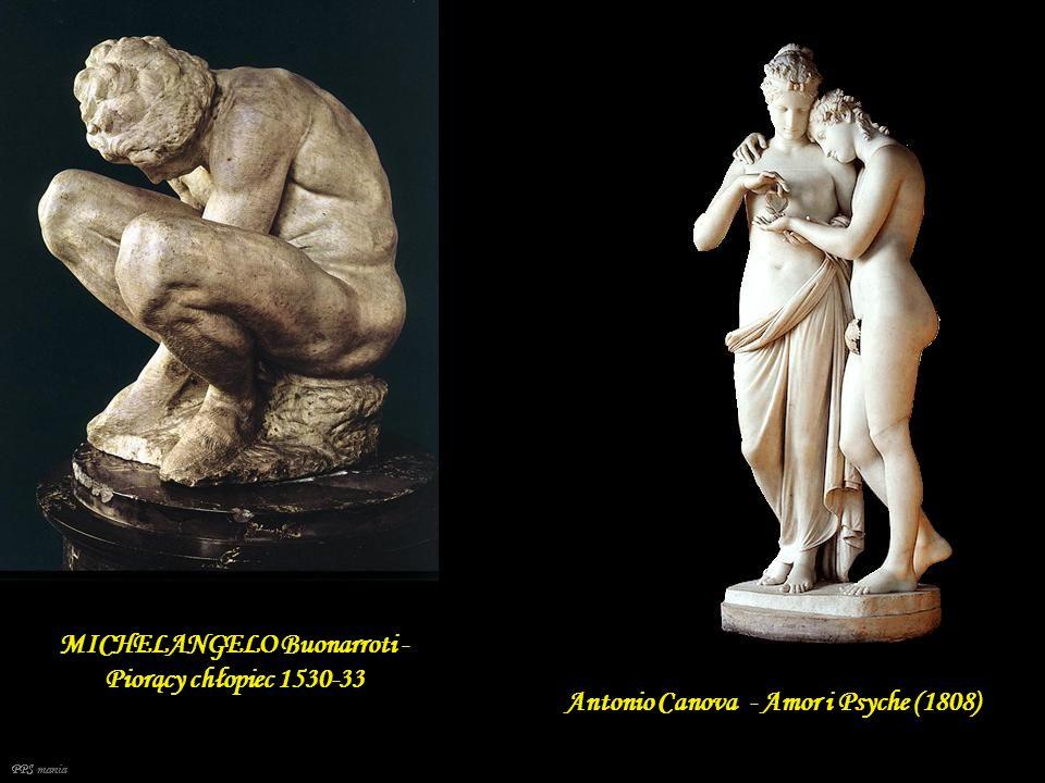 MICHELANGELO Buonarroti - Piorący chłopiec 1530-33
