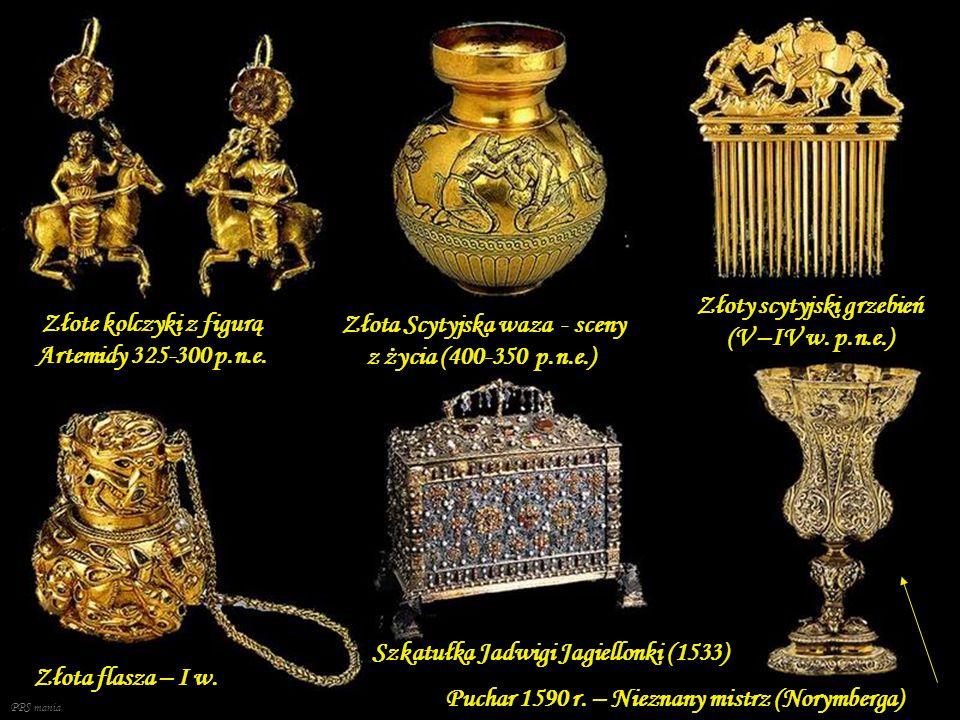 Złoty scytyjski grzebień (V –IV w. p.n.e.)