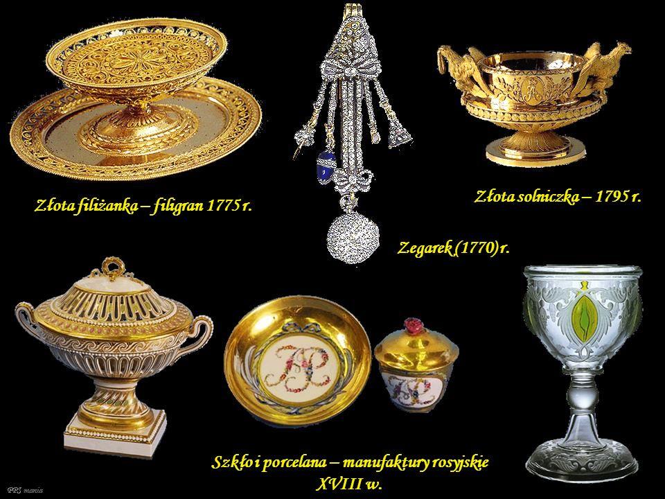 Szkło i porcelana – manufaktury rosyjskie XVIII w.