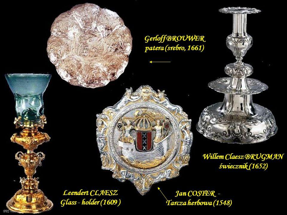 Gerloff BROUWER patera (srebro, 1661)