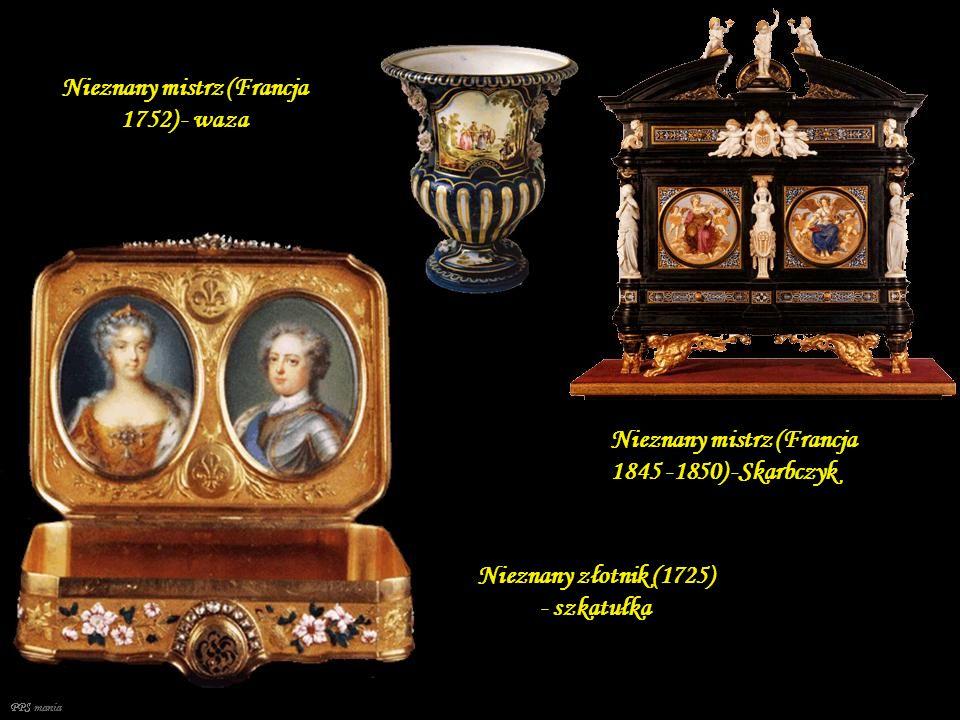 Nieznany mistrz (Francja 1752) - waza