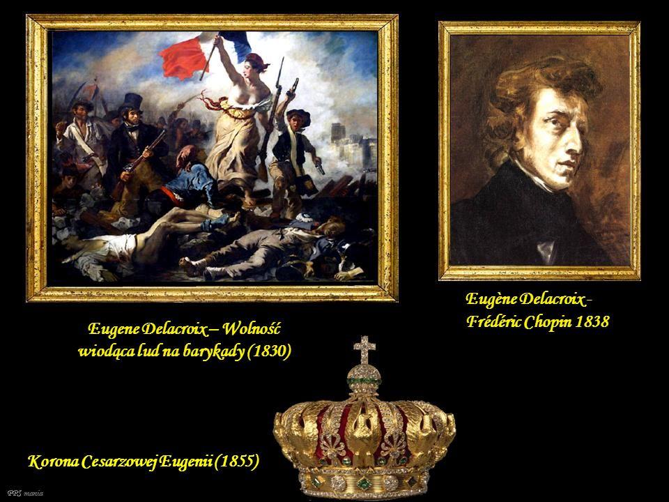 Eugene Delacroix – Wolność wiodąca lud na barykady (1830)