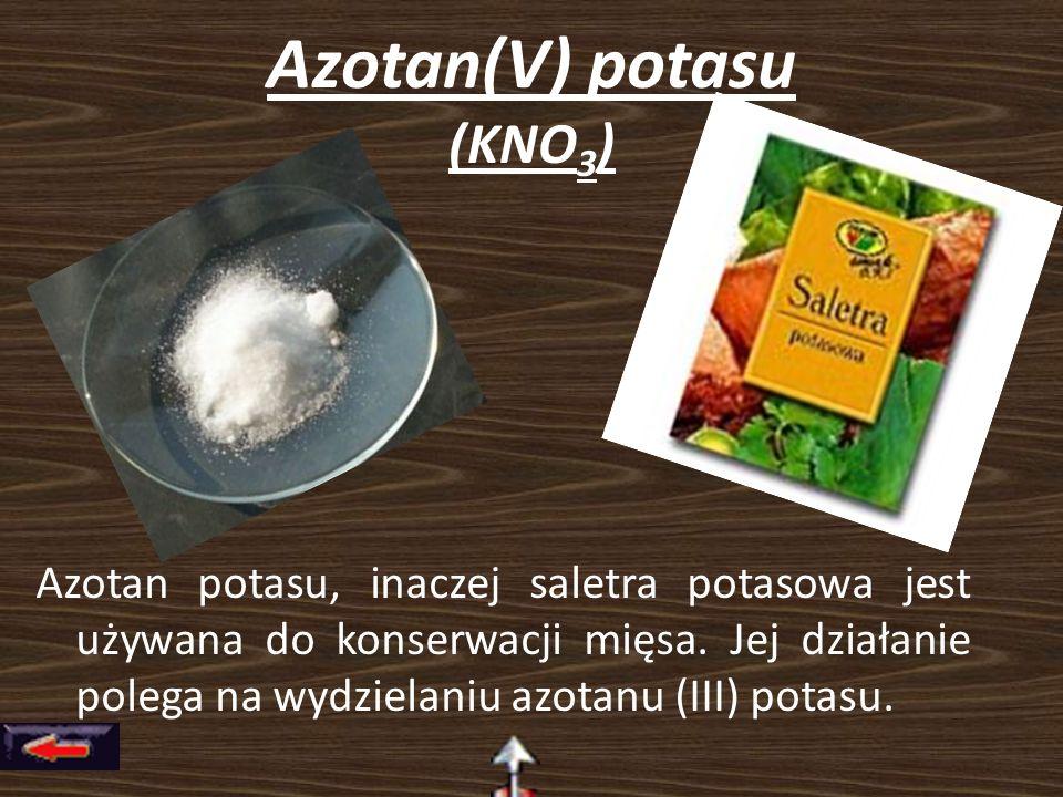 Azotan(V) potasu (KNO3)