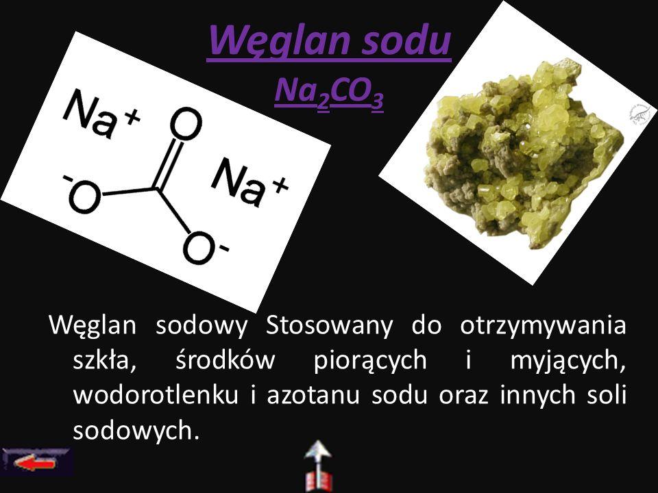 Węglan sodu Na2CO3