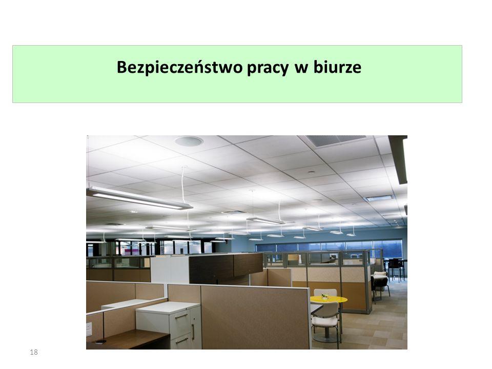 Bezpieczeństwo pracy w biurze