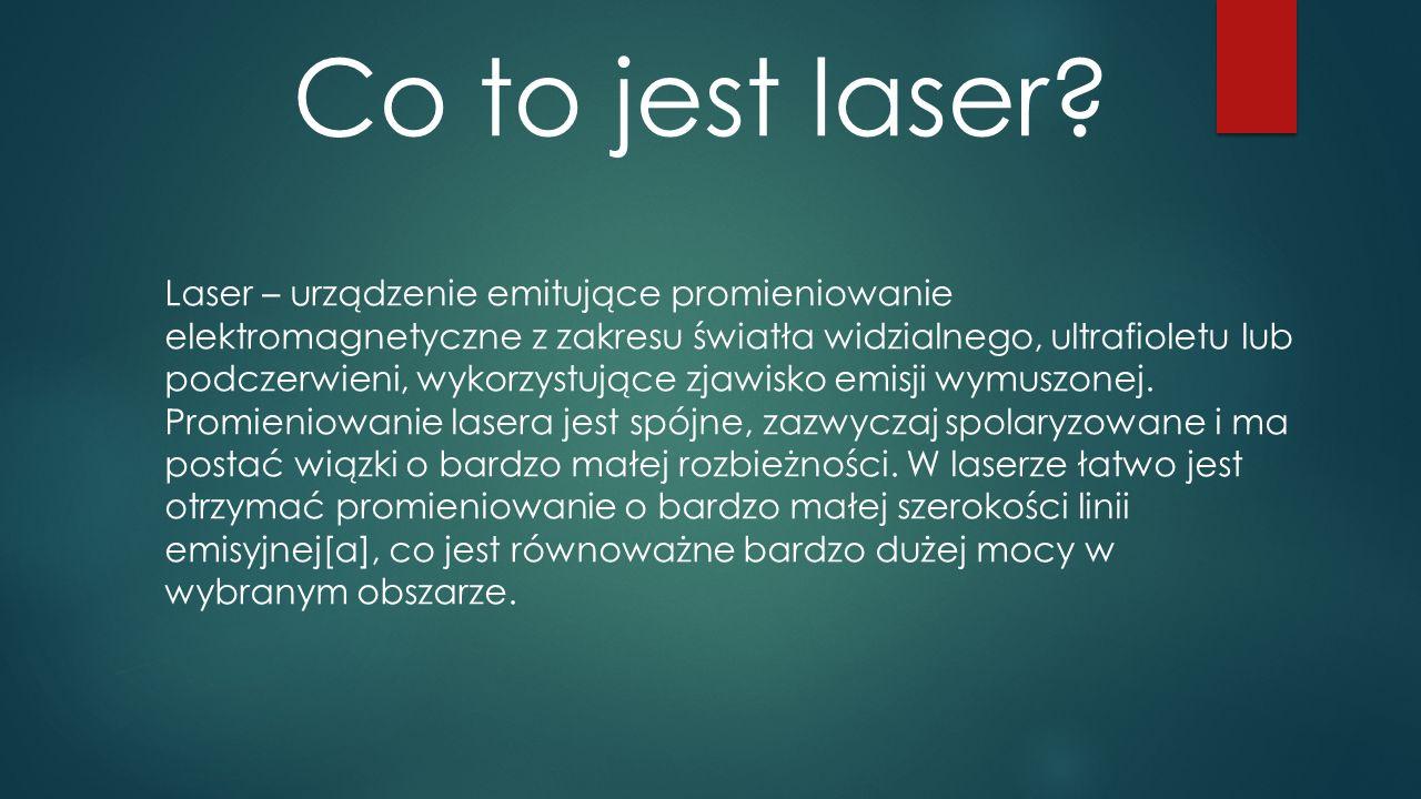 Co to jest laser