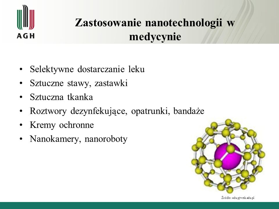 Zastosowanie nanotechnologii w medycynie