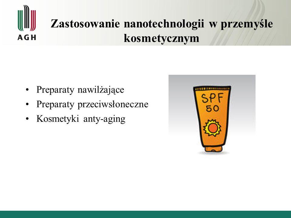 Zastosowanie nanotechnologii w przemyśle kosmetycznym