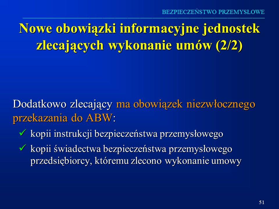 Nowe obowiązki informacyjne jednostek zlecających wykonanie umów (2/2)