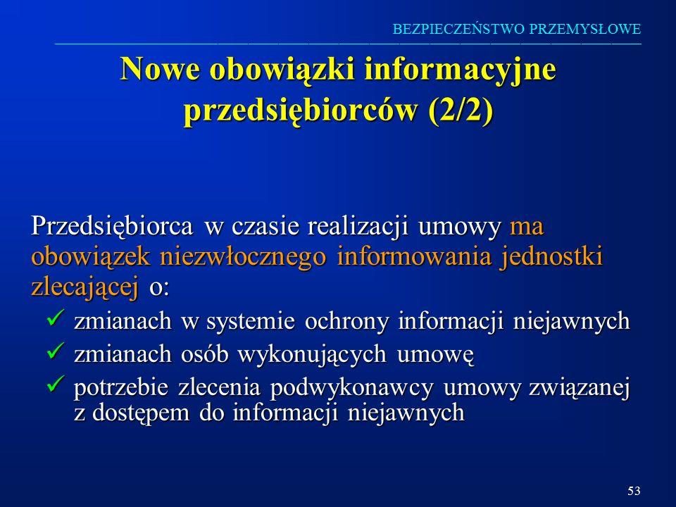 Nowe obowiązki informacyjne przedsiębiorców (2/2)