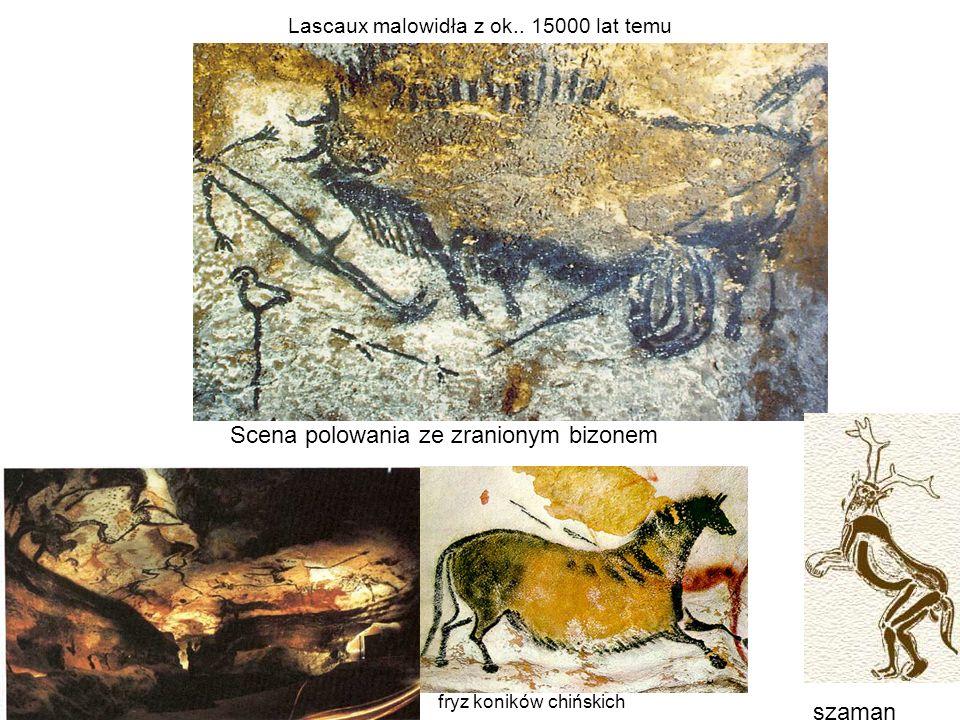 Lascaux malowidła z ok.. 15000 lat temu