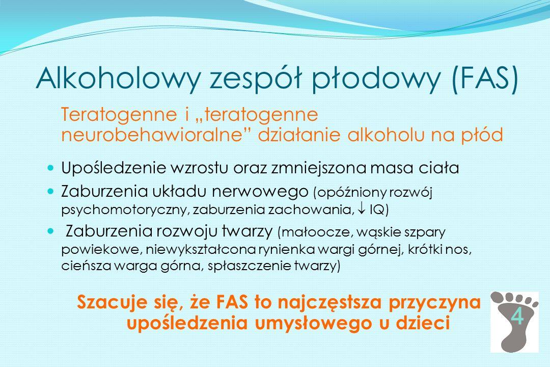 Alkoholowy zespół płodowy (FAS)