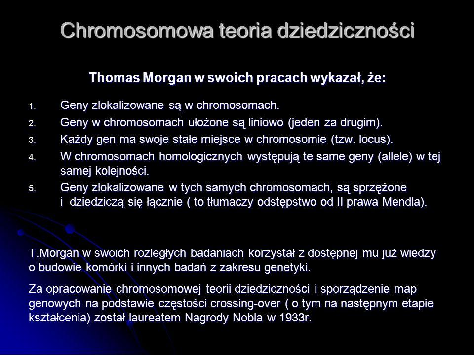 Chromosomowa teoria dziedziczności