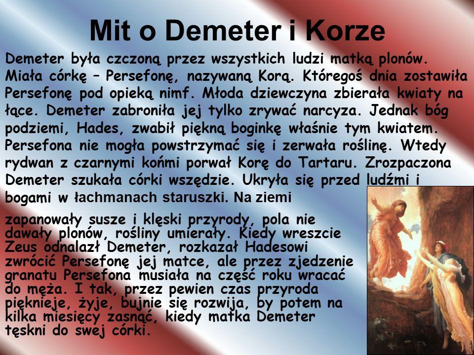 Mit o Demeter i Korze
