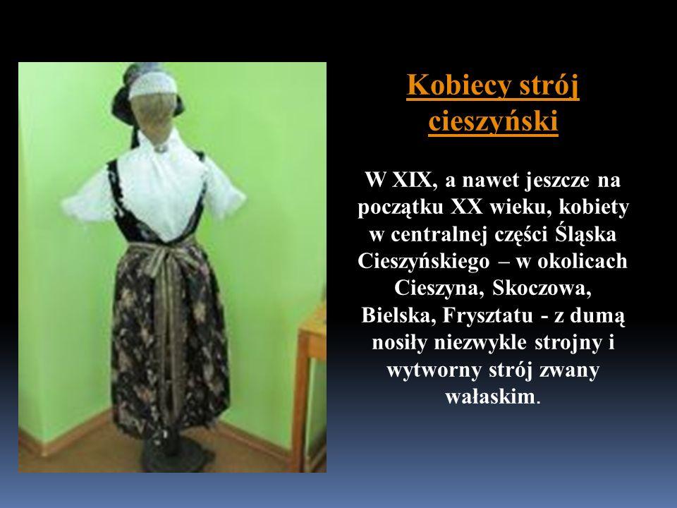 Kobiecy strój cieszyński