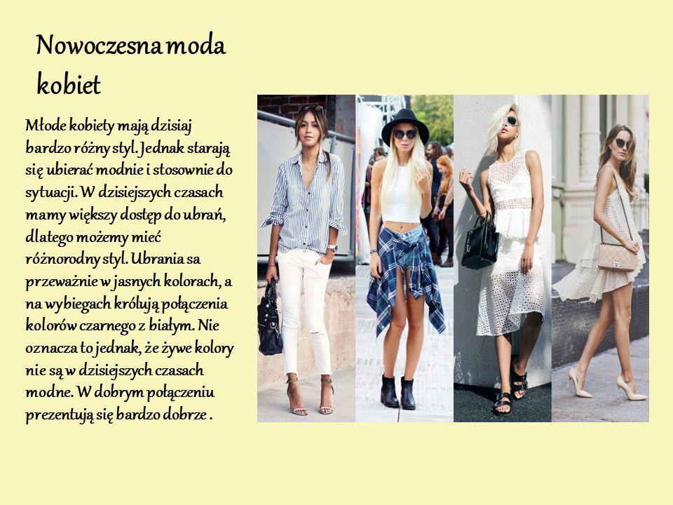 Nowoczesna moda kobiet