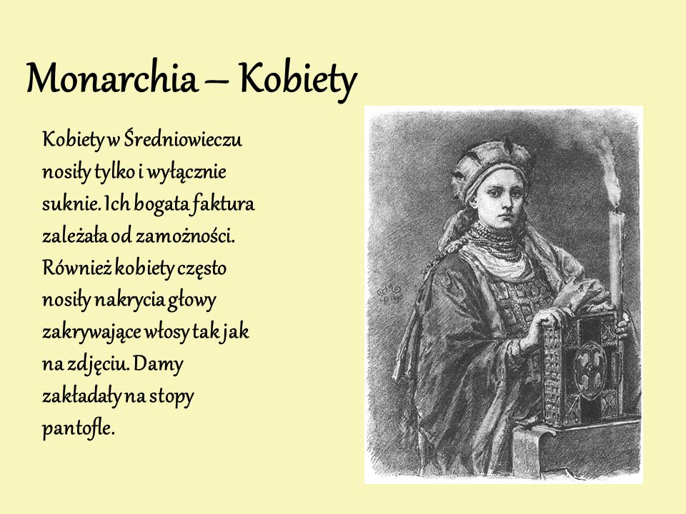 Monarchia – Kobiety