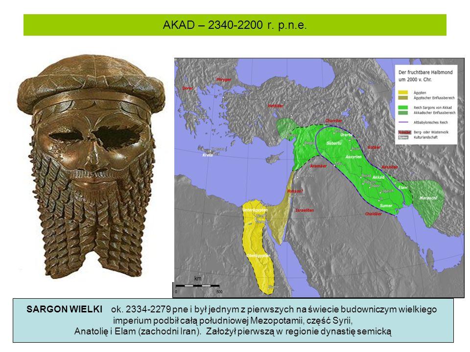 imperium podbił całą południowej Mezopotamii, część Syrii,