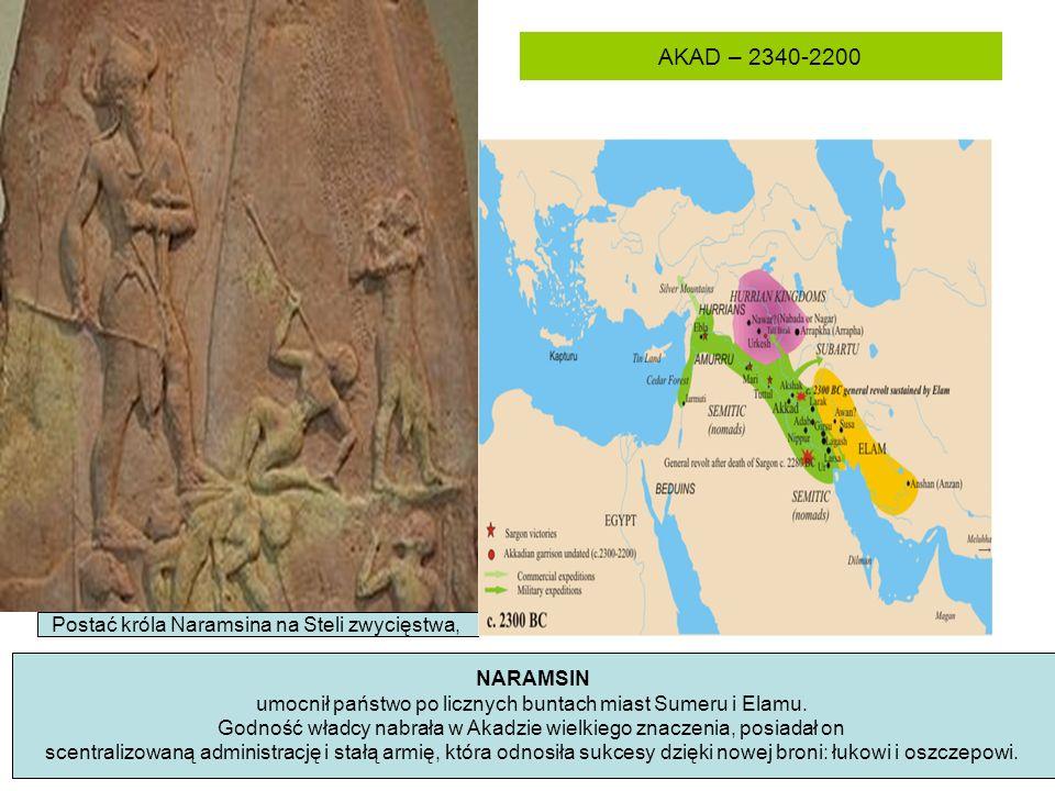 AKAD – 2340-2200 Postać króla Naramsina na Steli zwycięstwa, NARAMSIN