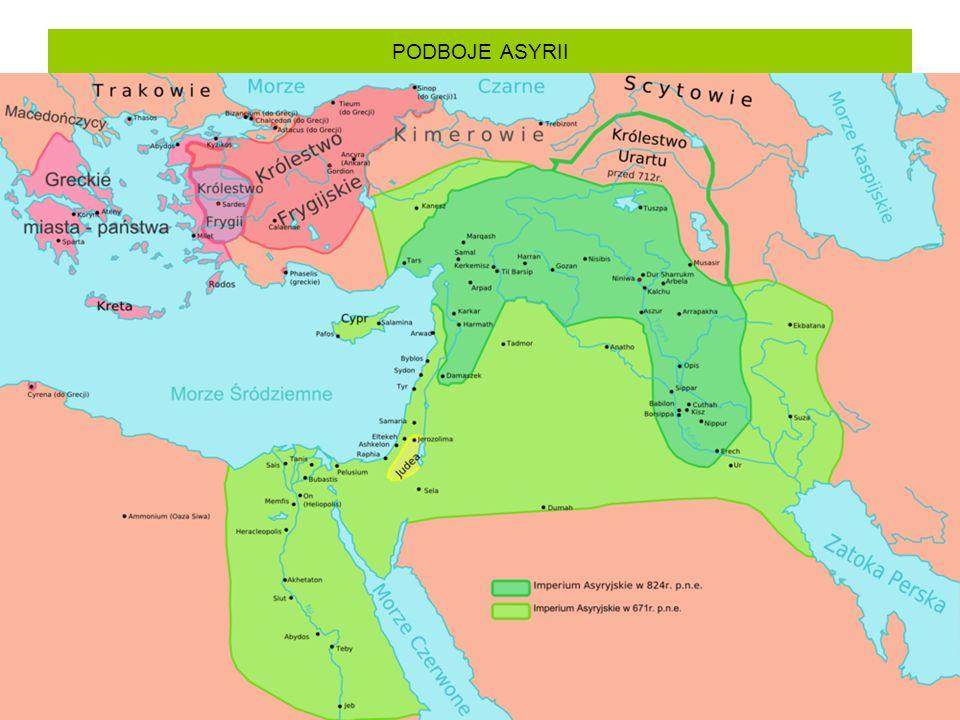 PODBOJE ASYRII