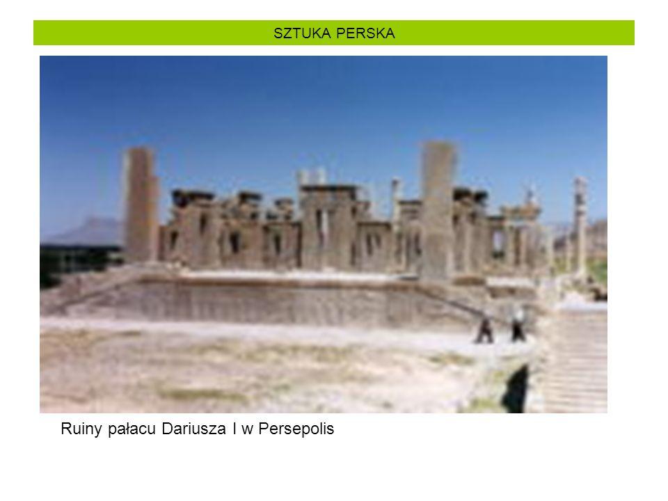 Ruiny pałacu Dariusza I w Persepolis