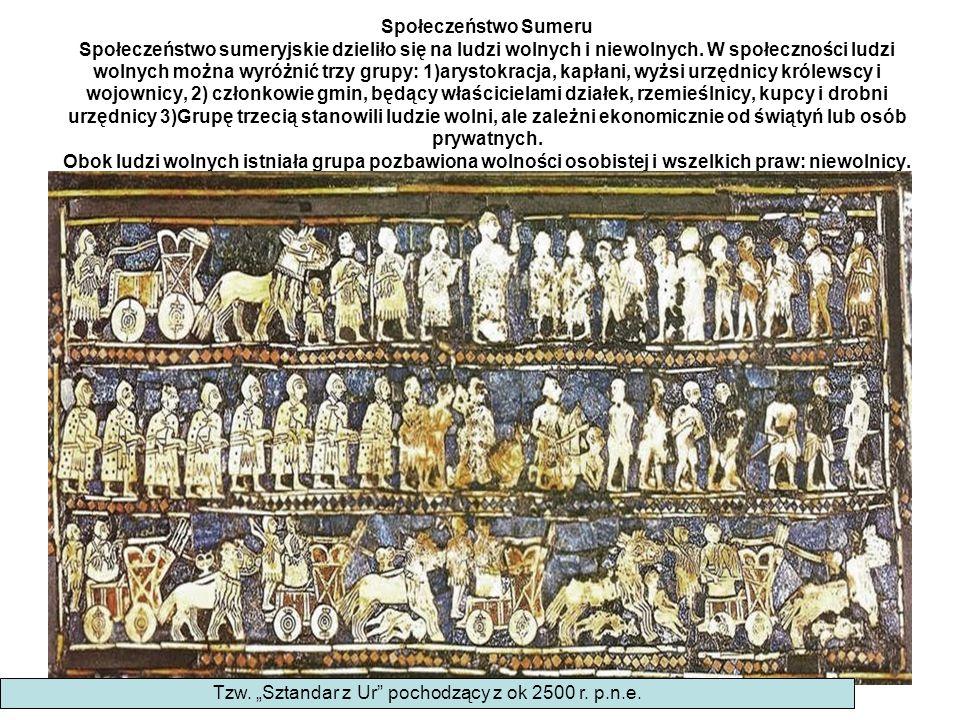 """Tzw. """"Sztandar z Ur pochodzący z ok 2500 r. p.n.e."""