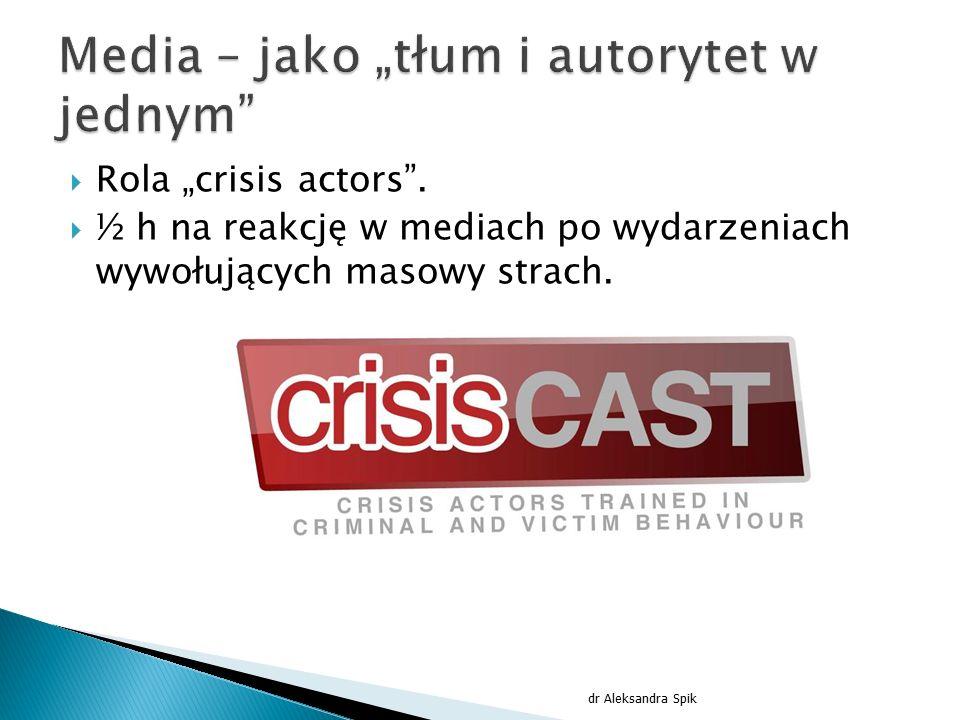 """Media – jako """"tłum i autorytet w jednym"""