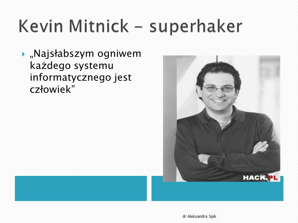Kevin Mitnick - superhaker