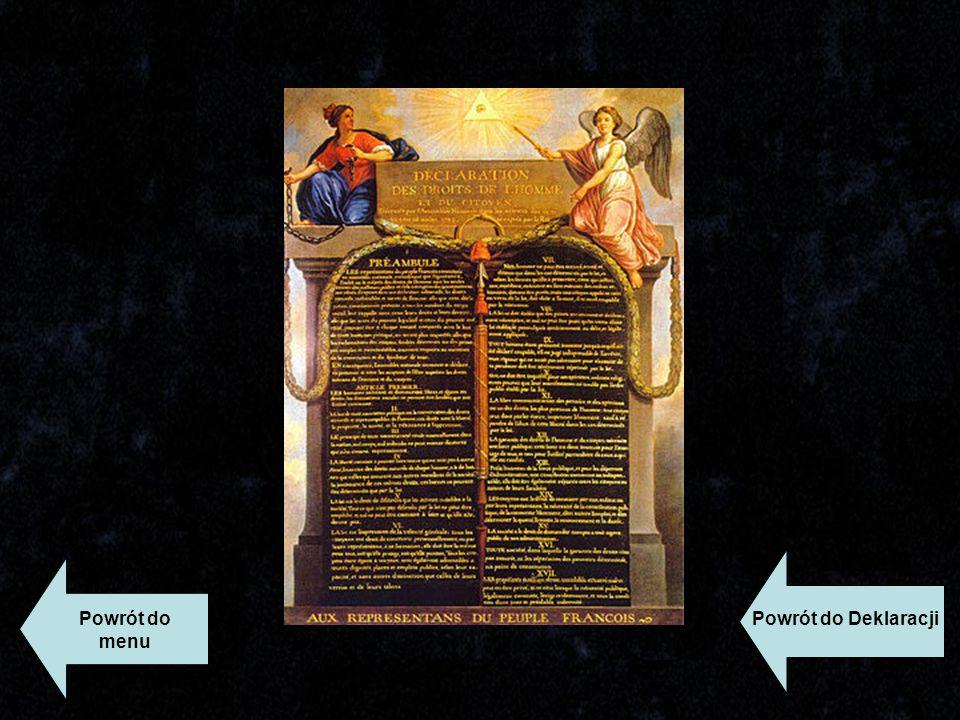 Powrót do Deklaracji Powrót do menu