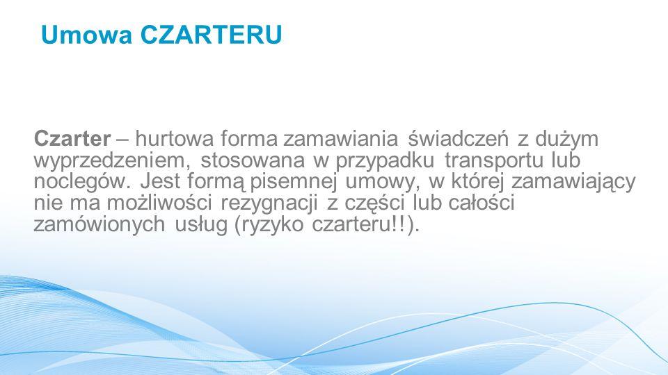 Umowa CZARTERU