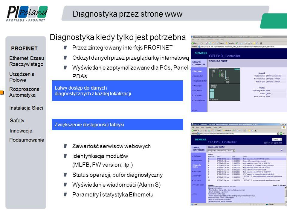 Diagnostyka przez stronę www