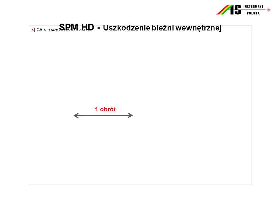 SPM HD - Uszkodzenie bieżni wewnętrznej