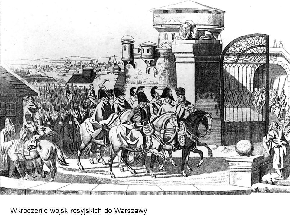 Wkroczenie wojsk rosyjskich do Warszawy