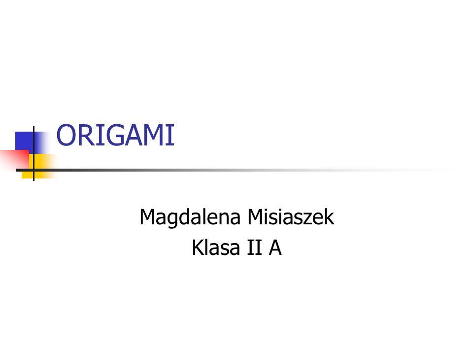 Magdalena Misiaszek Klasa II A