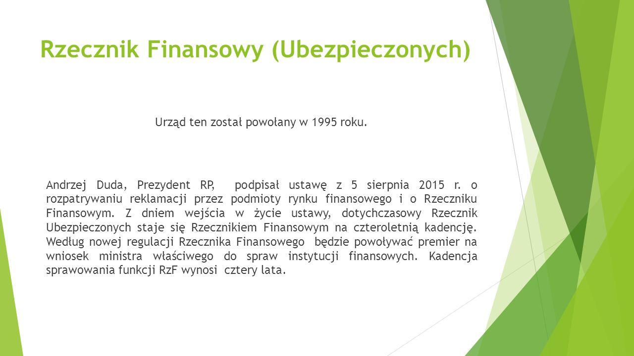 Rzecznik Finansowy (Ubezpieczonych)