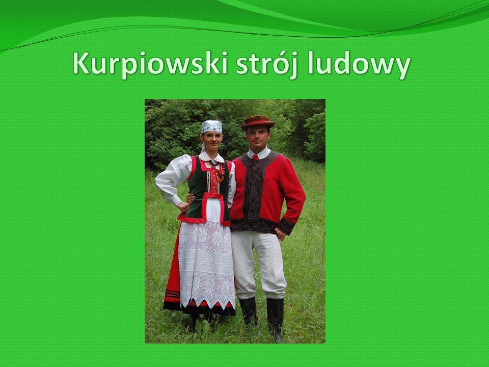 Kurpiowski strój ludowy