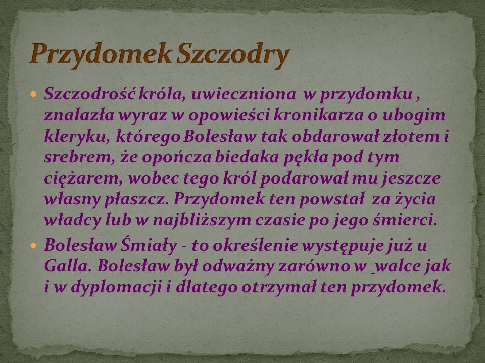 Przydomek Szczodry