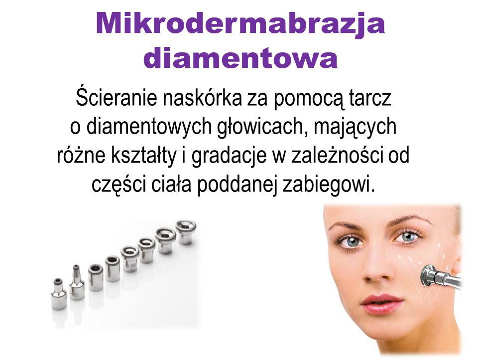 Mikrodermabrazja diamentowa