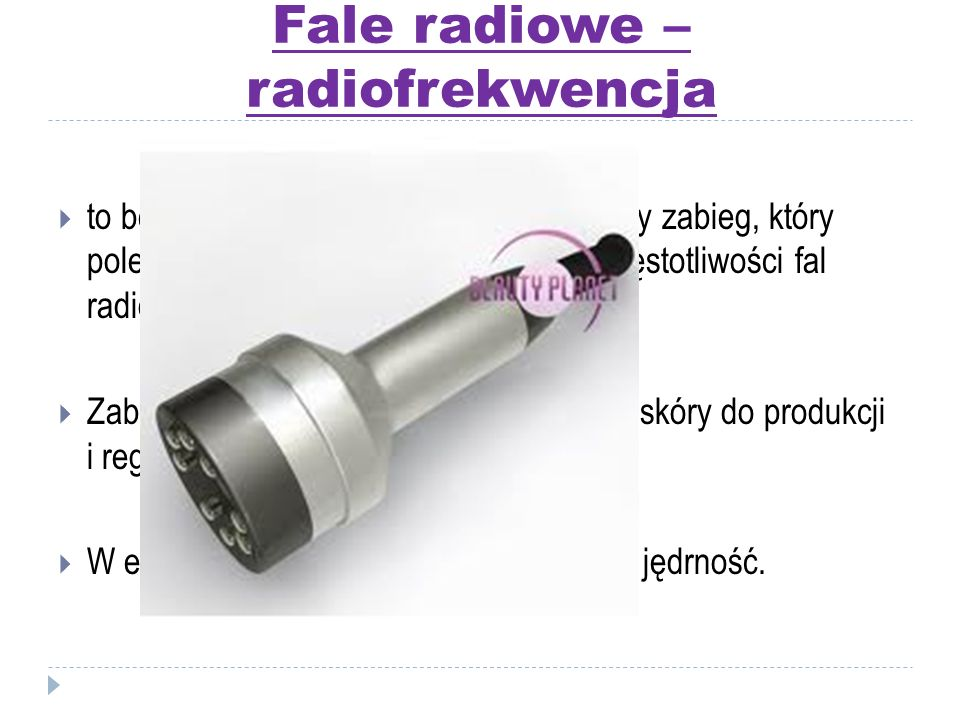 Fale radiowe – radiofrekwencja