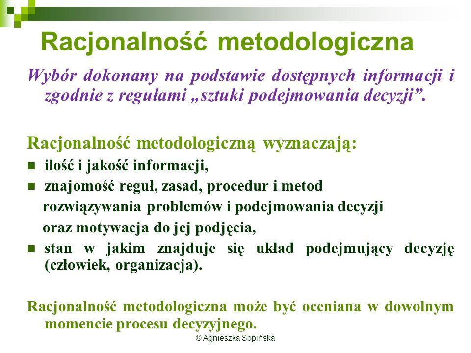 Racjonalność metodologiczna