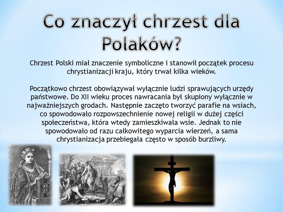 Co znaczył chrzest dla Polaków