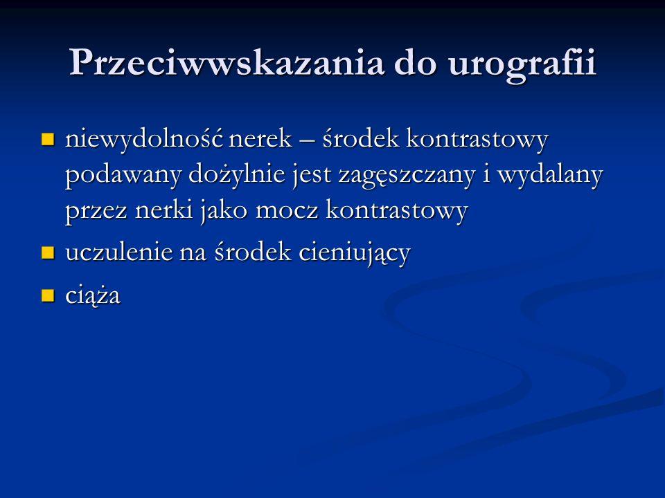 Przeciwwskazania do urografii